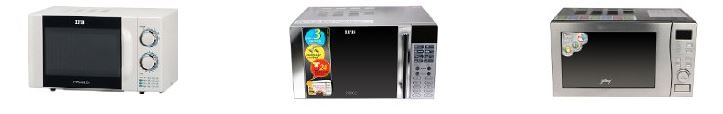10 Bestsellers in Microwave Ovens (Solo/Convectional from Amazon india