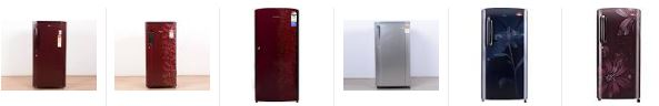 Best selling Single Door Refrigerator and with 5 star rating online india