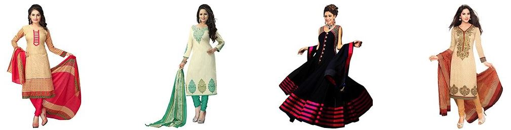 Women's Dress Materials Starts Just Rs 145 from Amazon india