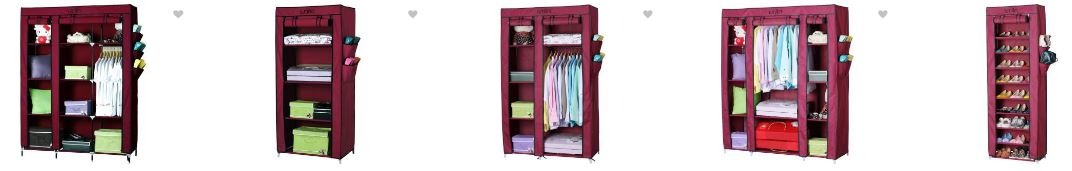 Buy Folding/Collapsible Wardrobes Online