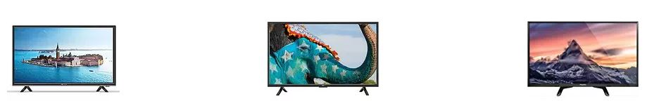 Amazon Offers on 81cm (32 inches) LED TVs