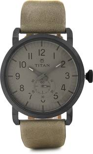 Flipkart offers : Men Titan Watches upto 49% OFF