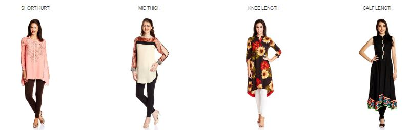 Amazon offers : Upto 55% OFF  on Women's Kurtha Collection