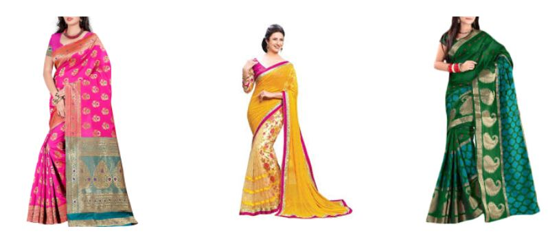 Best Offers on Banarasi Sarees Online
