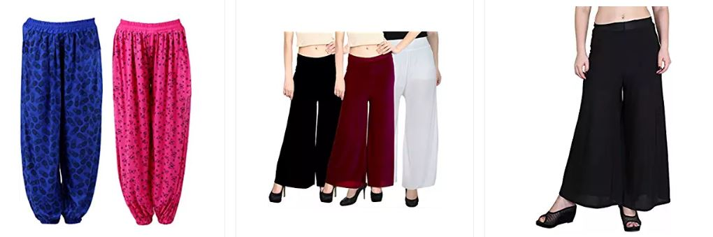 Best Offers on Women's Pants And Capris At Amazon India
