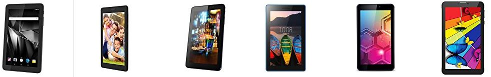Best Selling Tablets with Call Facility upto 45% discount