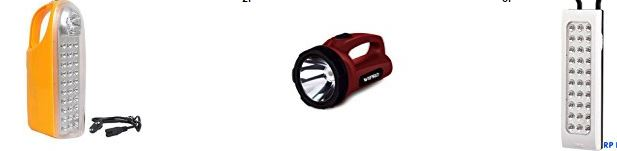 20 BestSellers Emergency Lights Online from Amazon India