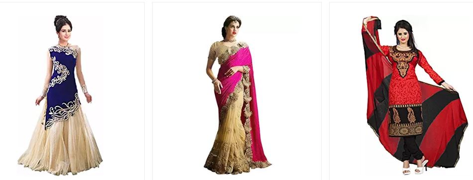 Best Offers on Women's Ethnic Wear Online @ Amazon India