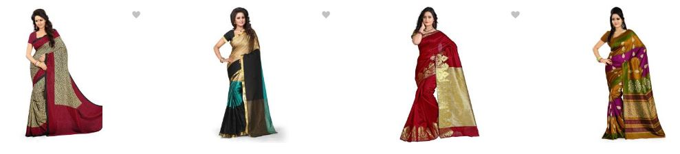 Flipkart.com offers : upto 80% off on Womens Festive Sarees