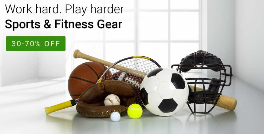 flipkart-offers-upto-30-to-70-off-on-sports-and-fitness-gear