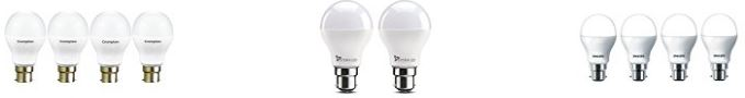 20 Bestsellers in LED Bulbs from Amazon India