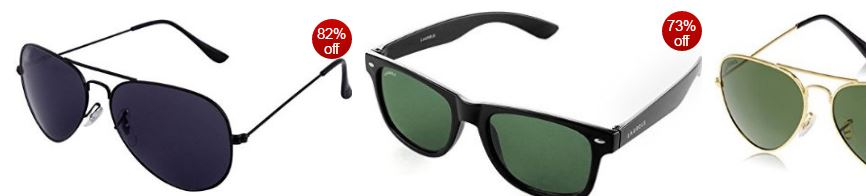 Amazon offers : 30% – 70% off: Men's sunglasses