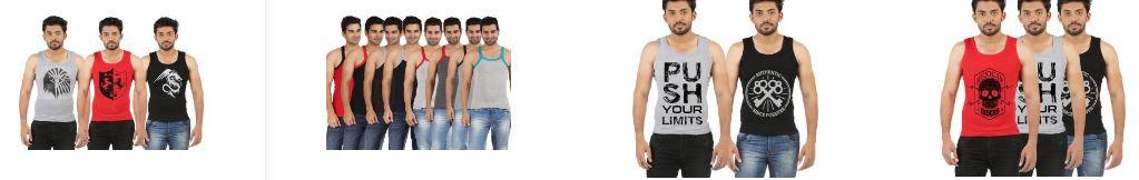 Flipkart.com offers : upto 74% off on Men's Inner Wear or Sleep Wear