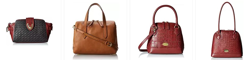 Amazon Top Brands: Women Hand Bags Up to 50% off