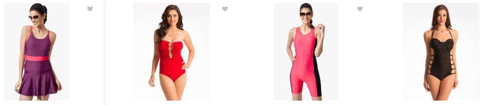 flipkart.com offers : upto 90% off on popular Women's Swim & Beach Wear