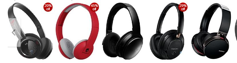 Amazon offer : Top rated wireless headphones upto 45% discount