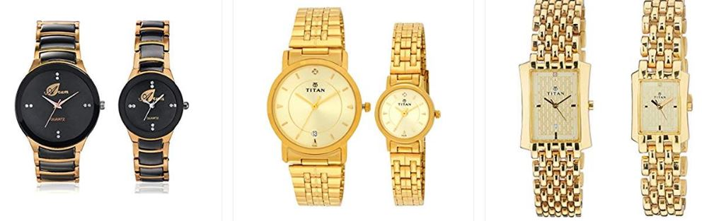 Couple Gift Watches Online