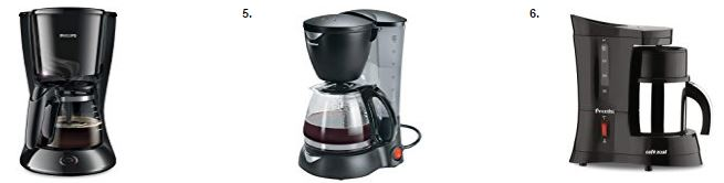 20 Bestsellers in Drip coffee machines from Amazon India