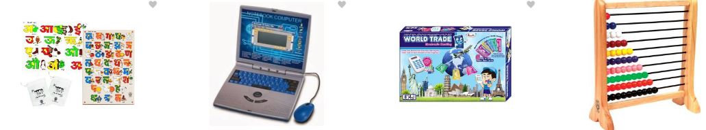 Discount offers on educational toys up to 70% off on Flipkart
