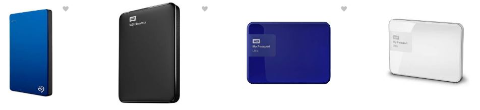 Upto 40% discounts n external hard drives from flipkart
