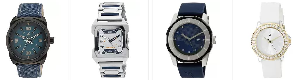 Amazon offers upto 35% off on the fastrack watches online for men, womens on all styles