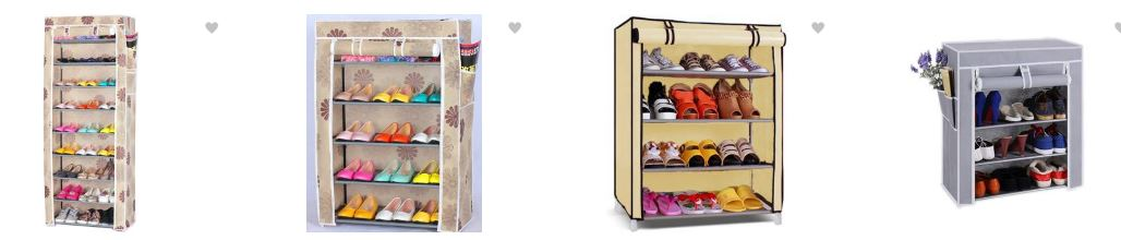 Buy Shoe Racks From Flipkart : Upto 75% OFF