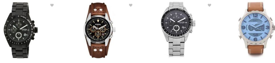 Flipkart Offers : Upto 30% OFF on Fossil Watches