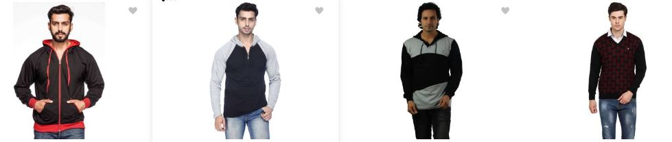 Flipkart offers upto 65% off on Pullover for both men and women!!