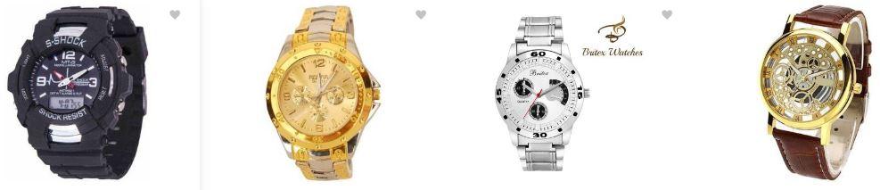 Flipkart offers : Minimum 70% OFF on Men's Watches