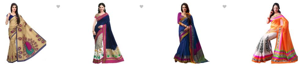 Flipkart offers upto 80% off the sarees online india