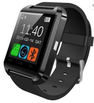 bingo-u8-smartwatch-black-strap