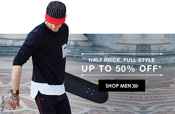 AJIO.com offers on Handpicked Fashion Latest Trends & Brands