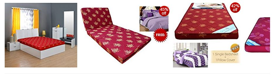 Best Selling Mattresses & Box Springs Online from Amazon India