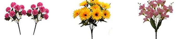 20 Best Selling Artificial Flowers Online from Amazon india