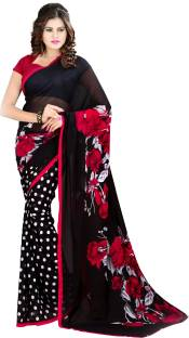 Georgette Sarees Online | Printed, Embroidered at Best Prices – Flipkart