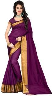 Cotton Sarees Online | Plain & Printed Cotton Sarees – Flipkart
