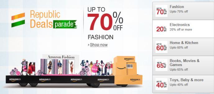 Amazon Republic Day Sale 23 to 26 Jan