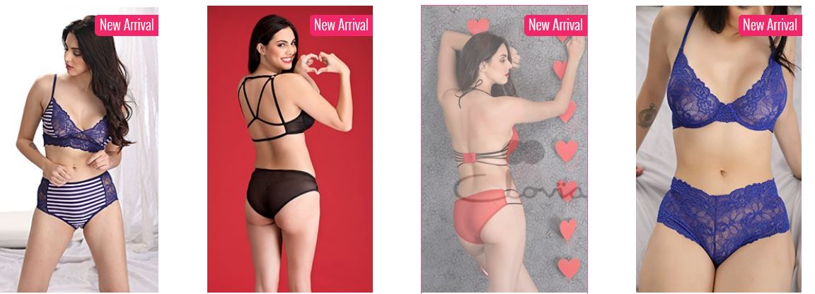 Clovia offers 4 Transparent Bras @ Rs 699 only