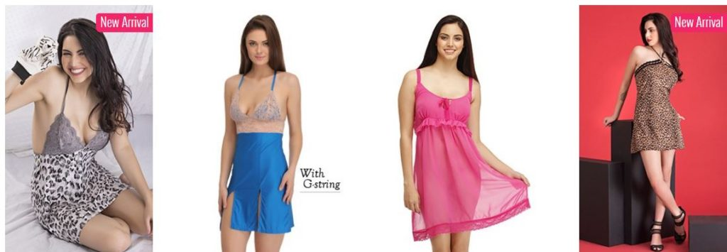Clovia offers BabyDolls Set @ Rs 599 only
