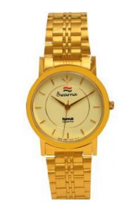 Hmt Swarna Golden Watch For Unisex @ Rs 139