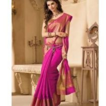 Indian Beauty Art Silk Saree with Blouse ( Colours Available)