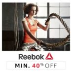 Amazon Fashion Sale: Min 40% Off on Reebok