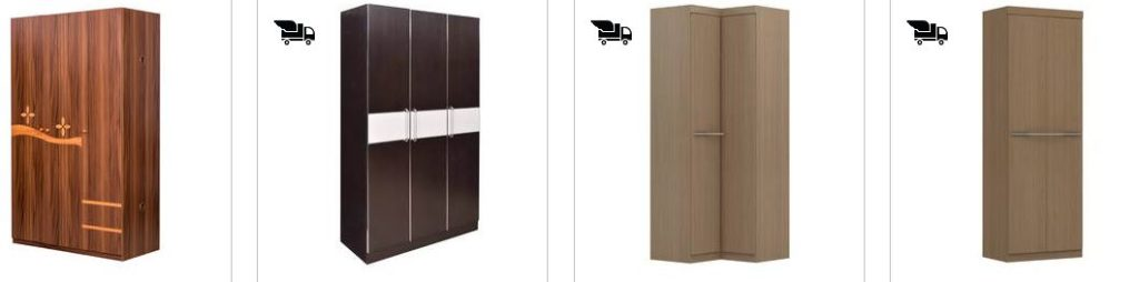 PepperFry Offers Upto 45% OFF on Wardrobes