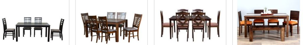 PepperFry Offers Upto 50% OFF on Dining Sets