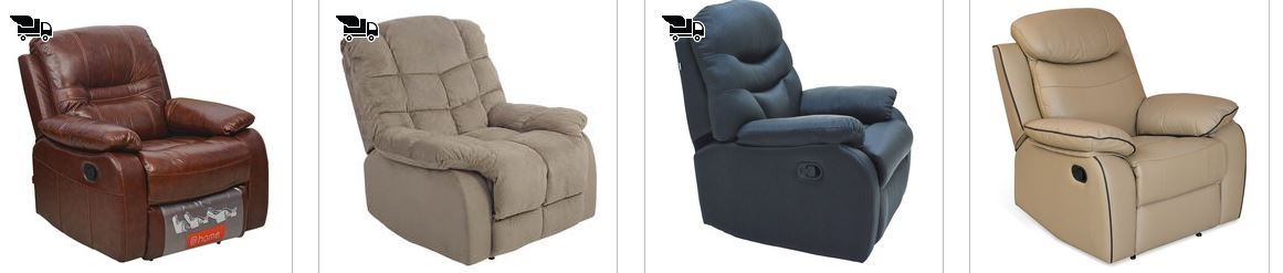 PepperFry Offers Upto 50% OFF on Recliners