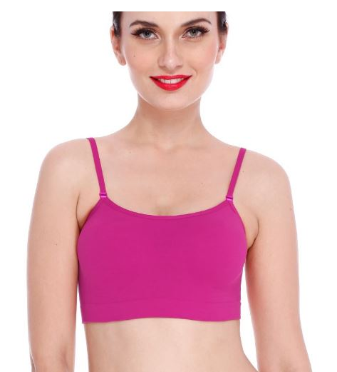 Buy Clovia SET OF 4 PREMIUM SEAMLESS CAMISOLES & Get FREE OPTIMA WATCH!