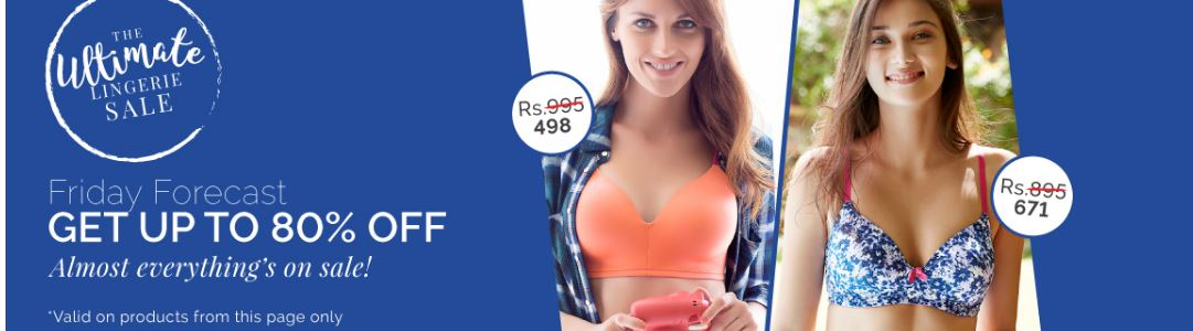 Buy 1 Get 1 Free – Buy Lingerie Online in India – Bra, Panties, Nightwear & Women Apparels