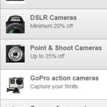 amazon cameras offers