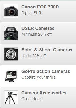 amazon cameras offers
