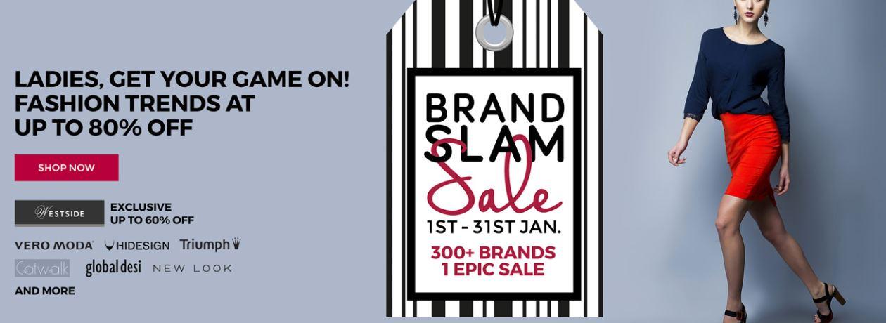 Tatacliq Brand Slam Sale – Get Upto 80% Off,
